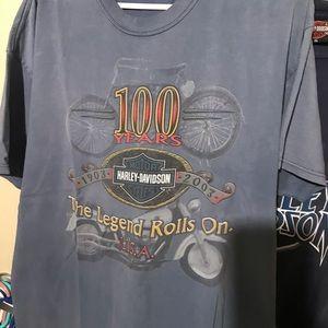 Vintage Harley Davidson- XL t-shirt